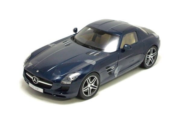 Premium ClassiXXs 1/12scale MERCEDES-BENZ SLS AMG C197 Daytona Blue Metallic [No.PCS10601]