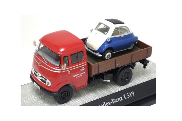 Premium ClassiXXs 1/43scale MERCEDES-BENZ PICK UP with BMW Isetta  [No.PCS11061]
