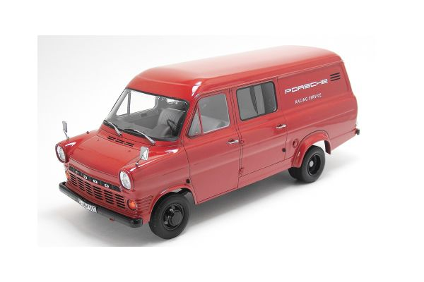 Premium ClassiXXs 1/18scale フォード トランジット MKI Kasten ポルシェレーシング サービス1965 Red [No.PCS30060]