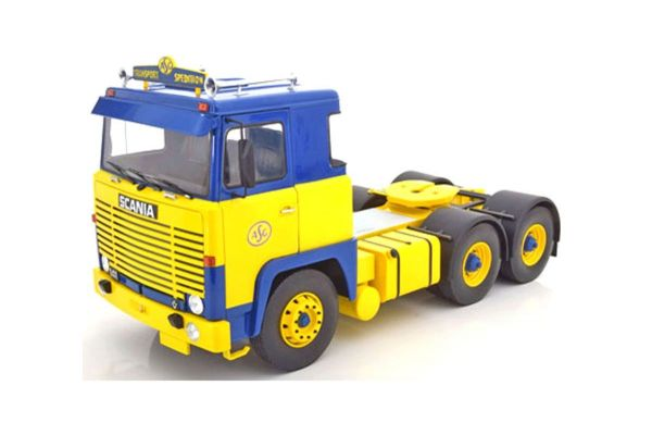 ROAD KINGS 1/18scale Scania LBT 1976 (Yellow / Blue)  [No.RK180011]
