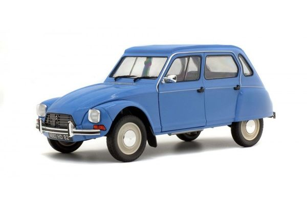 SOLIDO 1/18scale CITROËN DIANE  (blue)  [No.S1800305]