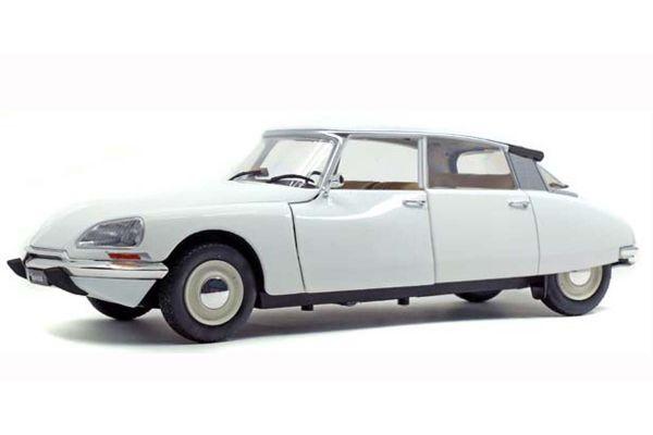 SOLIDO 1/18scale Citroen D Special 1972 (White)  [No.S1800705]