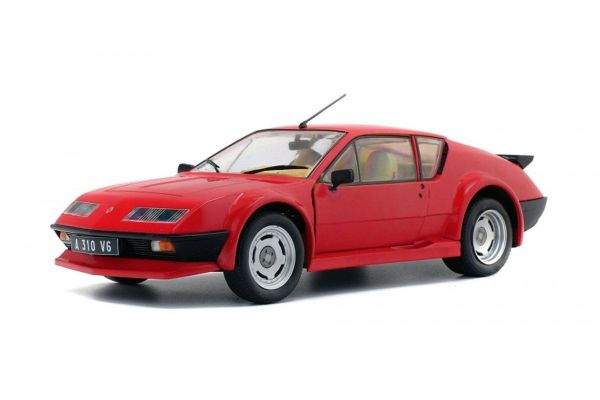 SOLIDO 1/18scale ALPINE A310 PACK GT (Red)  [No.S1801202]