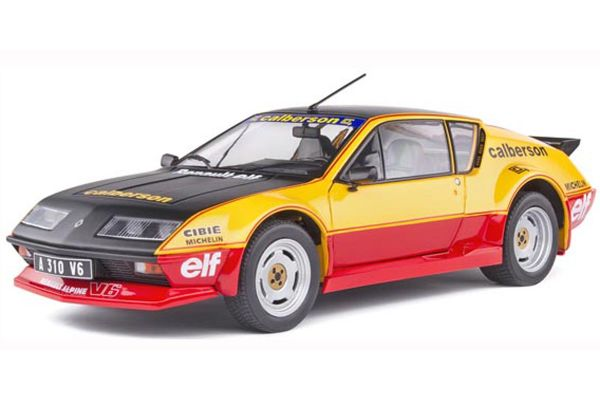 SOLIDO 1/18scale Alpine A310 GT (Black / Yellow / Red)  [No.S1801204]