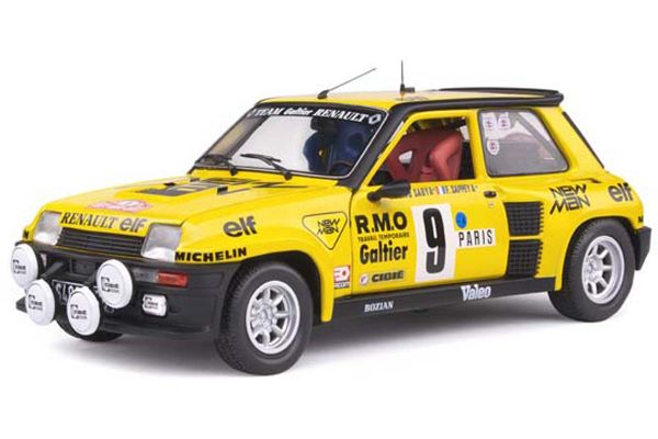 SOLIDO 1/18scale Renault 5 Turbo Monte Carlo Rally 1982 # 9 (Yellow)  [No.S1801311]