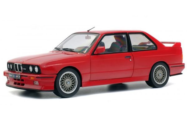 SOLIDO 1/18scale BMW E30 M3 Red  [No.S1801502]