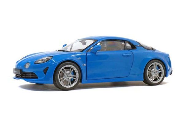 SOLIDO 1/18scale Alpine A110 Pure (Blue)  [No.S1801604]