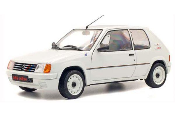 SOLIDO 1/18scale Peugeot 205 Rally 1.9L Mk.I 1988 (White)  [No.S1801701]