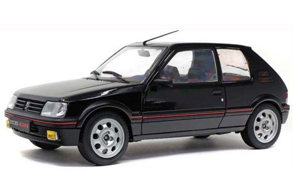 SOLIDO 1/18scale Peugeot 205 GTI 1.9L Mk.II 1990 (Black)  [No.S1801707]
