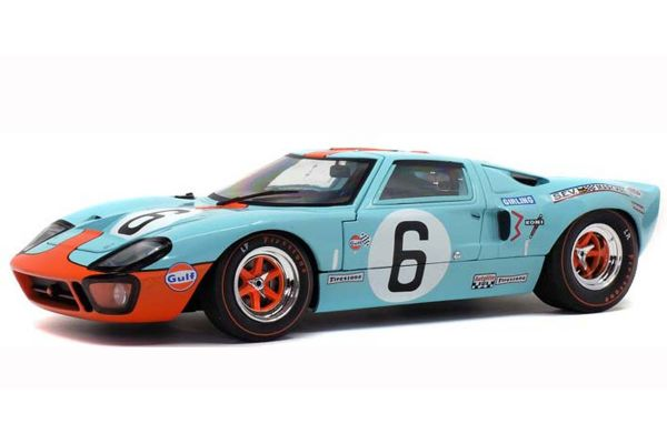 SOLIDO 1/18scale Ford GT40 Mk1 Le Mans Winner 1969 (Gulf)  [No.S1803003]