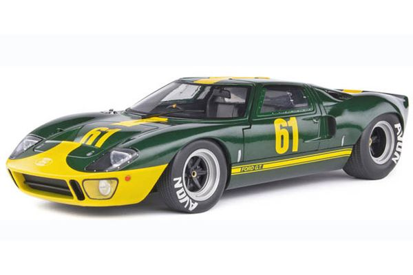 SOLIDO 1/18scale Ford GT40 Mk.1 (Green)  [No.S1803004]