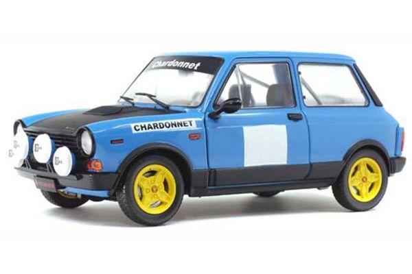 SOLIDO 1/18scale Autobianchi A112 Mk.V Abarth Rally Chardonnay 1980 (Blue)  [No.S1803801]