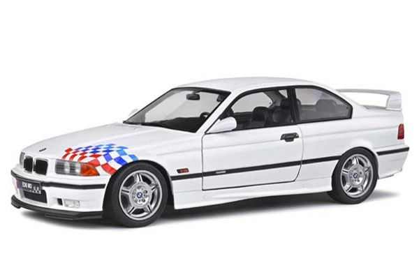 SOLIDO 1/18scale BMW E36 M3 Coupe Lightweight 1995 (White)  [No.S1803903]