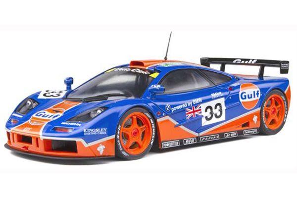 SOLIDO 1/18scale McLaren F1 GTR Le Mans 24h 1996 (Gulf)  [No.S1804101]