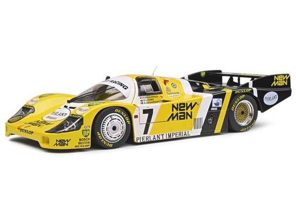 SOLIDO 1/18scale Porsche 956LH LeMans # 7 (Yellow)  [No.S1805502]