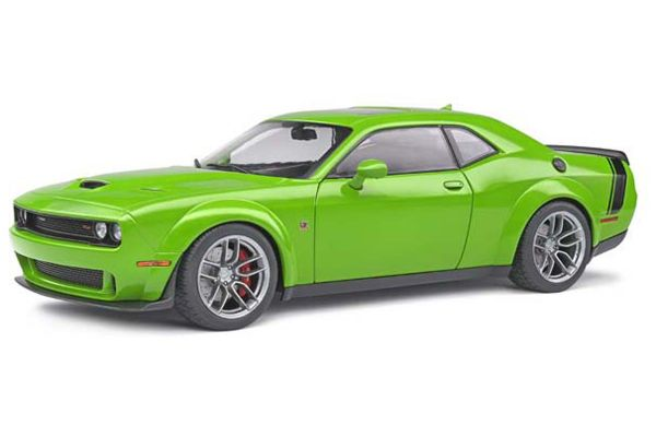 SOLIDO 1/18scale Dodge Challenger R / T Scat Pack Wide Body (Green)  [No.S1805704]
