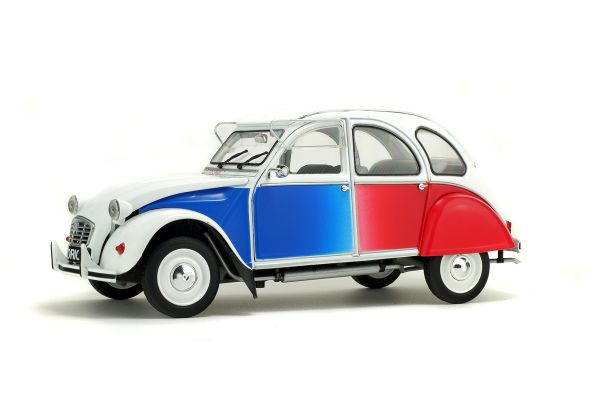 SOLIDO 1/18scale Citroen 2CV Cocorico White [No.S1850004]