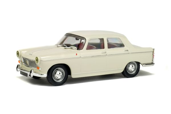 SOLIDO 1/43scale Peugeot 404 sedan Ivory [No.S4300800]