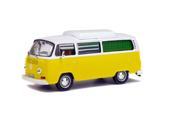 SOLIDO 1/43scale Volkswagen Combi T2 camping Yellow / White [No.S4301000]