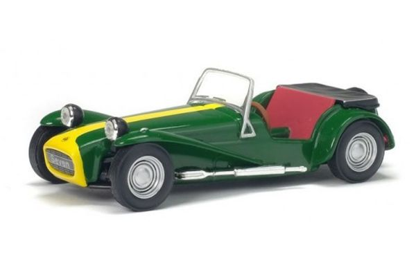 SOLIDO 1/43scale Lotus Seven 1967 Green / Yellow  [No.S4400500]