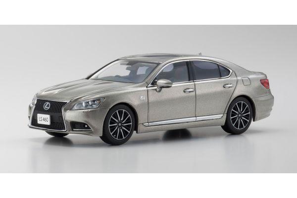 KYOSHO 1/43scale Lexus LS460 F SPORT Sonic Titanium  [No.KS03659T]