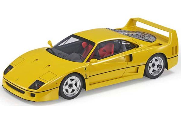 TOPMARQUES 1/12scale F40 Yellow  [No.TM12-17B]