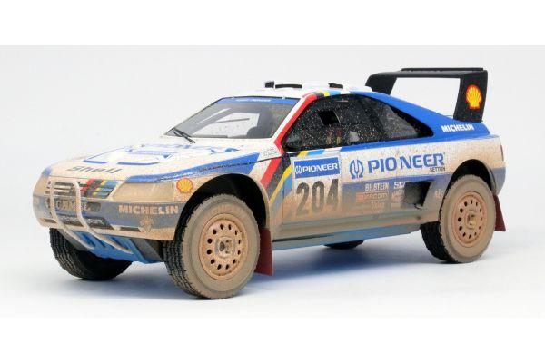 TOPMARQUES 1/18scale Peugeot 405 T16 No.204 1989 Paris Dakar Winner (Pioneer) Weathering  [No.TMPD03CD]
