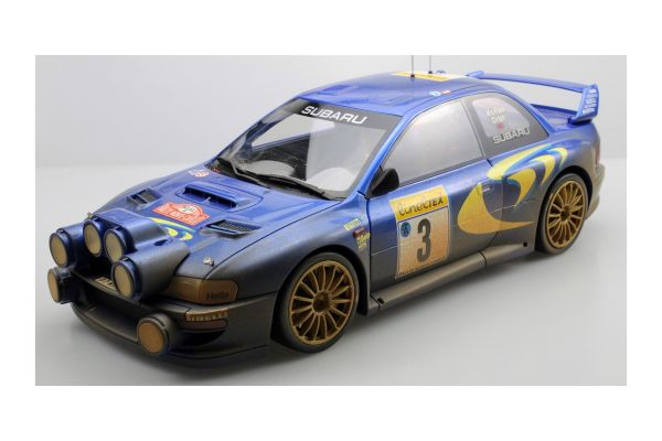 TOPMARQUES 1/12scale Subaru Impreza S4 WRC No 3 1998 Monte Carlo Rally McRae / Gurst dirty ver. (Weathering paint)  [No.TMR12-02AD]