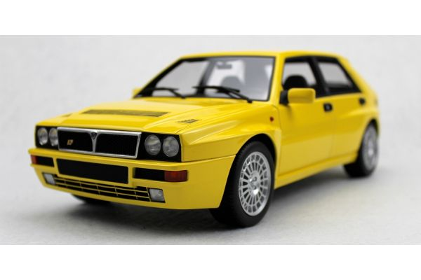 TOPMARQUES 1/12scale Lancia Delta Integrale Evo Giallo Ginestra (Yellow)  [No.TOP01201A]