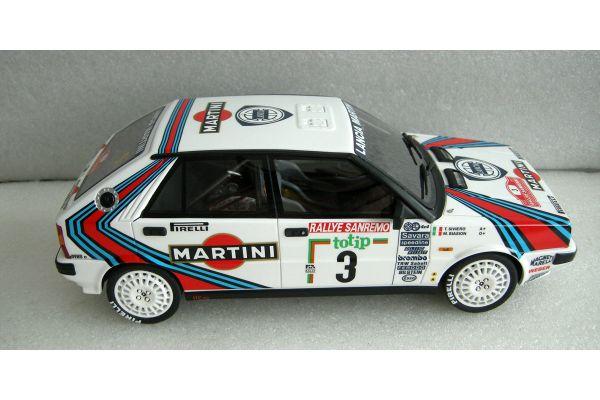 TOPMARQUES 1/18scale Lancia Delta HF 4WD 1987  Biasion No.3 Sanremo Winner  [No.TOP024E]