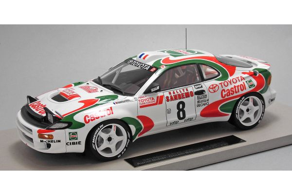 TOPMARQUES 1/18scale Toyota Celica GT-FOUR (ST185) 1994 San Remo winner Oriol No.8  [No.TOP034C]