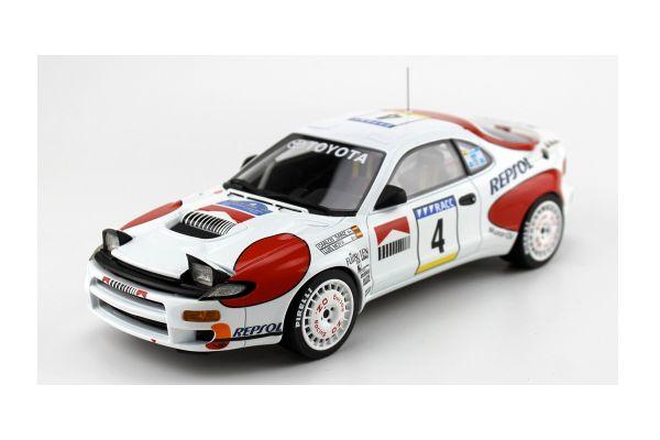 TOPMARQUES 1/18scale Toyota Celica GT-FOUR ST 185 Repsol 1992 No.4 Catalonia Rally Sainz  [No.TOP034G]