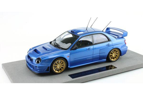 TOPMARQUES 1/18scale Subaru Impreza S7 555 WRT Blue [No.TOP037AB]