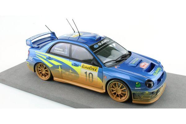 TOPMARQUES 1/18scale Subaru Impreza S7 555 WRT No.10 / 2002 Monte Carlo Rally winner Tommy Makinen / Kaj Lindstrom (Weathering paint)  [No.TOP037AD]