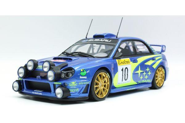TOPMARQUES 1/18scale Subaru Impreza S7 555 WRC No.10 2002 Monte Carlo Night Version  [No.TOP037C]