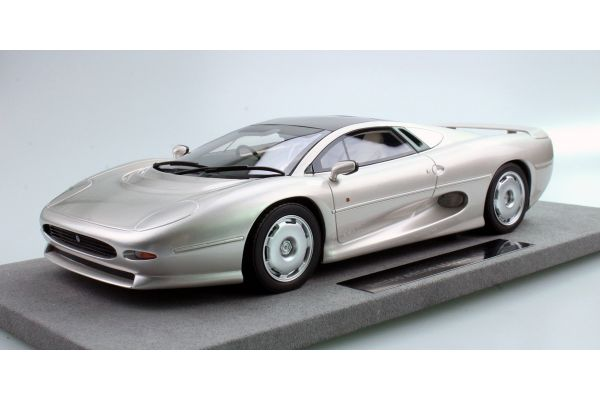 TOPMARQUES 1/18scale Jaguar XJ 220 in 1992 Silver  [No.TOP039C]