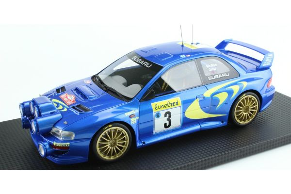 TOPMARQUES 1/18scale Subaru Impreza S4 No.3 Monte Carlo 1998  [No.TOP040A]