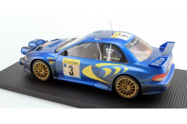 TOPMARQUES 1/18scale Subaru Impreza S4 WRC No3 1998 Monte Carlo Rally McRae / Grist (Weathering paint)  [No.TOP040AD]