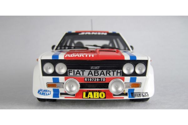 TOPMARQUES 1/18scale Fiat 131 No.9 1977 San Remo Winner Jean-Claude Andruet  [No.TOP043A]