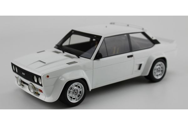 TOPMARQUES 1/18scale Fiat 131 Abarth 1977 White  [No.TOP043A1W]