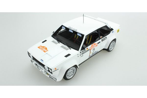 TOPMARQUES 1/18scale Fiat 131 Abarth No.2 1980 Sanremo Winner  [No.TOP043D]