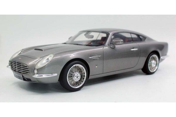 TOPMARQUES 1/18scale David Brown Speedback GT (Silver)  [No.TOP065A]