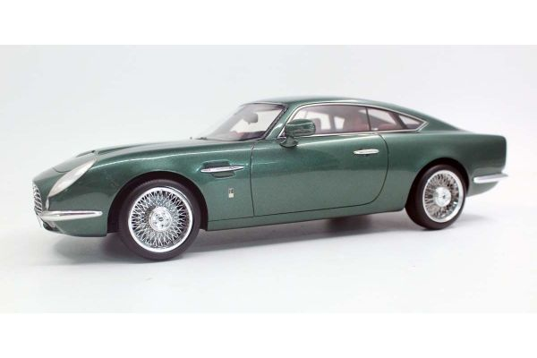 TOPMARQUES 1/18scale David Brown Speedback GT (Green)  [No.TOP065B]