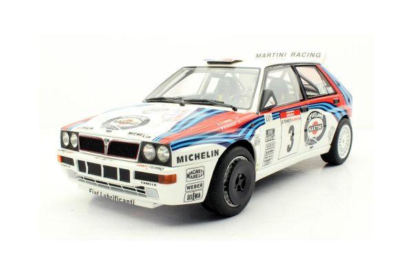 TOPMARQUES 1/18scale Lancia Delta Integrale Tour de Corse Winner 1992 # 3 Didier Auriol  [No.TOP066H]