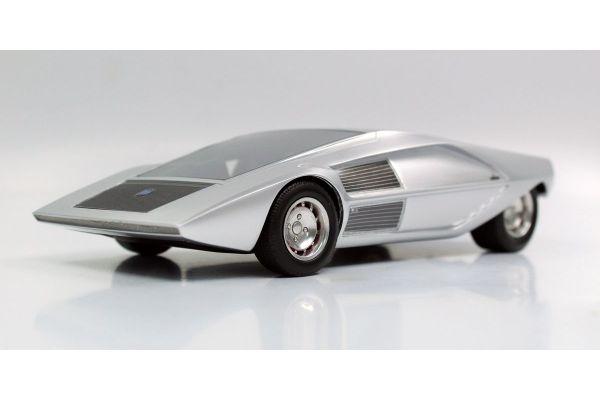 TOPMARQUES 1/18scale Lancia Stratos Zero concept (Silver)  [No.TOP067B]