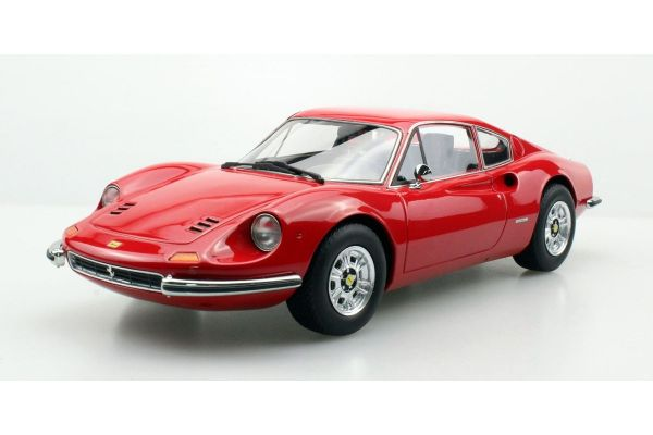 TOPMARQUES 1/18scale Dino 246 Red  [No.TOP088A]