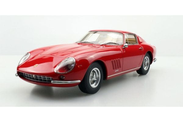 TOPMARQUES 1/18scale Ferrari 275 GTB/4 Red  [No.TOP089A]
