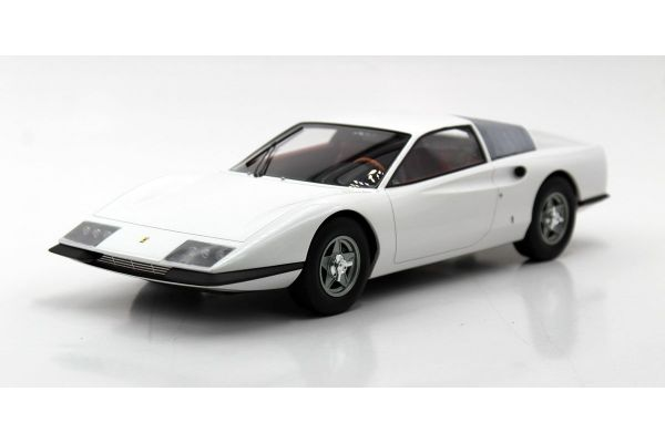 TOPMARQUES 1/18scale Ferrari P6 Prototype (White)  [No.TOP094C]