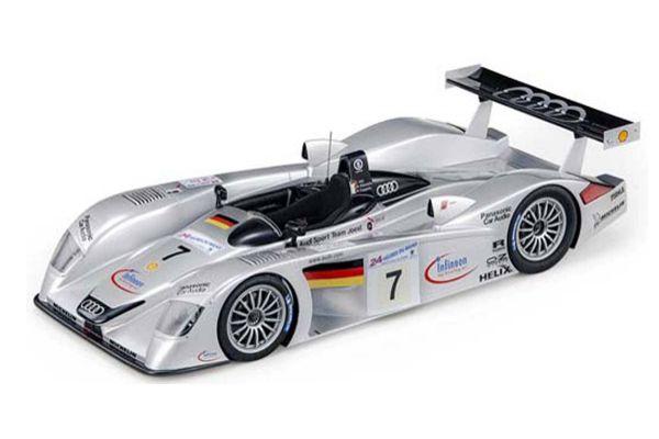 TOPMARQUES 1/18scale Audi R8 Le Mans 2000 No, 7  [No.TOP106B]