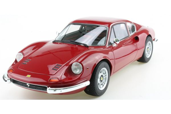 TOPMARQUES 1/12scale Dino 246 GT 1972 Red [No.TOP12-02A]